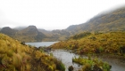 View over the lakes in Cajas