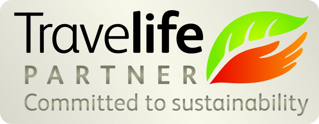 travelife sustainability logo