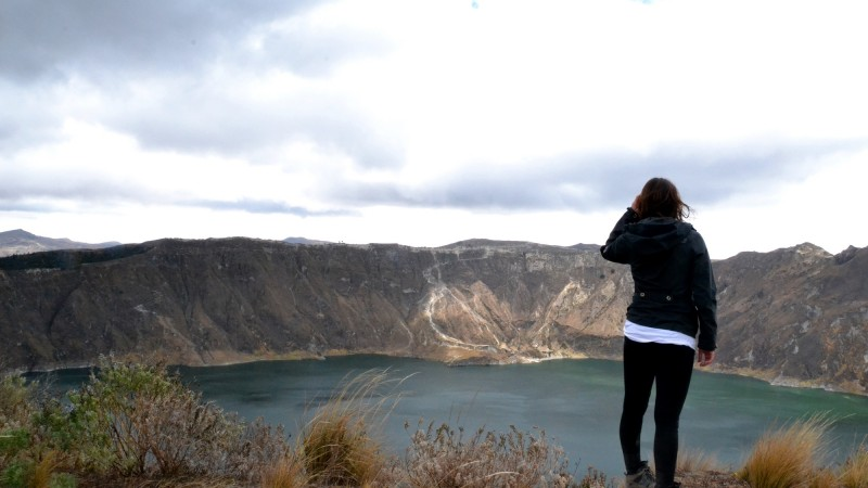 Quilotoa Loop, Crater Lake, Ecuador, SOLEQ travel