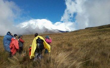 Durante el Condor trek conocerá el paisaje del paramo ecuatoriano.