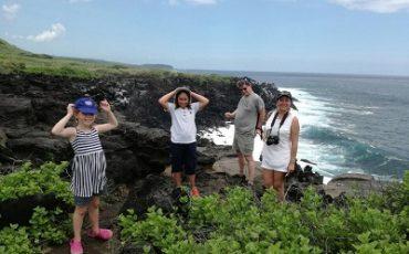 En Galapagos hay mucho para descubrir para los niños y los adultos tambien.