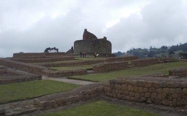 Ingapirca es un complejo de ruinas Inkas cerca de Cuenca.