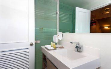 Disfruta de unas instalaciones de baños de alto estandard.