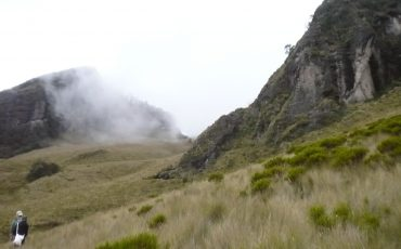 El Pasochoa es otro volccan con que se va a preparar para la escala del Cotopaxi.
