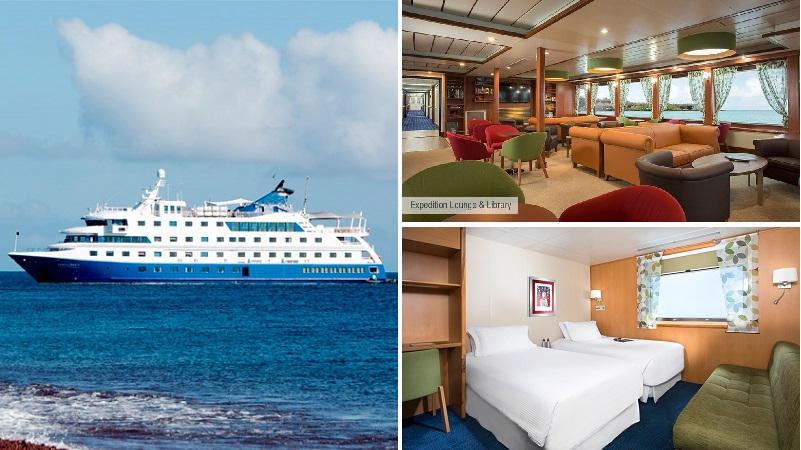 Descubra las Islas Galapagos en un maravilloso crucero con el catamaran Santa Cruz II