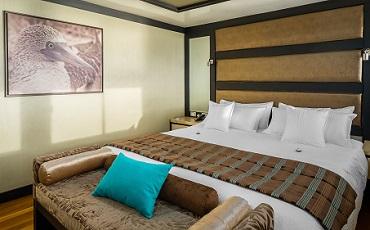 Pase noches maravillosas en los suites de Seastar durante su crucero por las islas Galapagos
