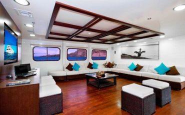 Relaja en el lounge de Cormorant