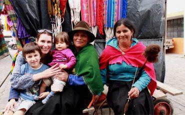 Otavalo es un lugar para toda la familia.