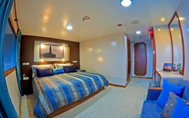 Las doble cabinas de Ocean Spray son comodas y espaciosas.