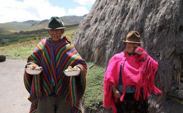 Durante este tour se va a encontrar con gente indigena de los Andes.