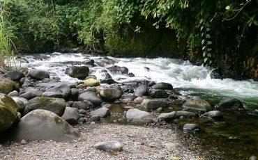 rio en los alrededores de Mindo
