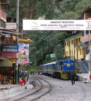 From Aguas Calientes you start your visit to Machu Pichu