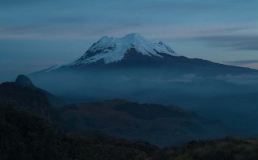 Enjoy views of the magical Antisana volcano