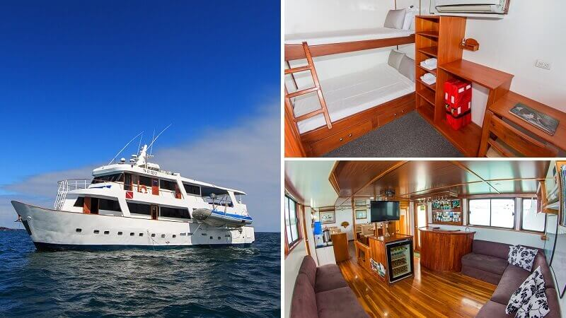 Check out the last minute offers for the Galapagos cruise with Aqua yacht.