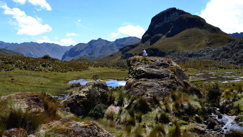 When you are in Cuanca you shoud visit the Cajas national park