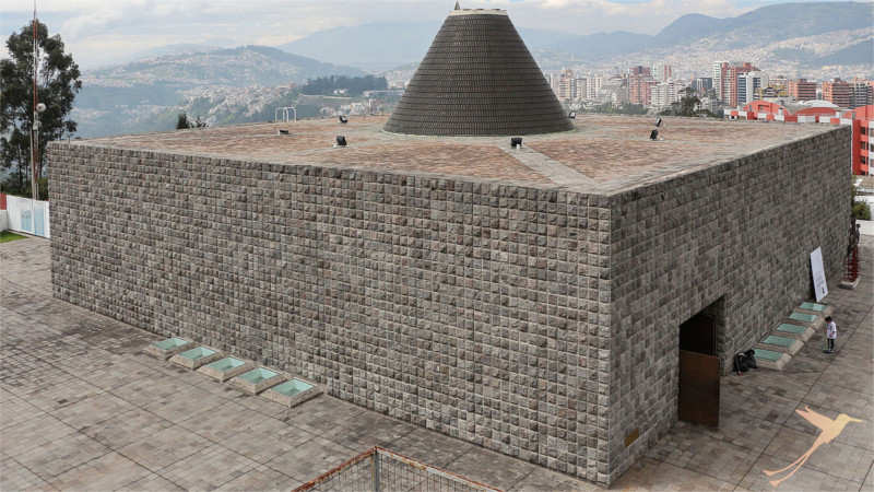 The capilla del hombre is an interesting museum in Quito.