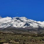 The Chimborazo is situated in amazing landscape.