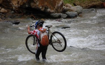 A bicycle tour in Ecuador can get really adventurous