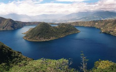 During the Nature Tour you have the opportunity to hike around the Cuicocha Lake