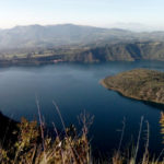 The Cuicocha lagoon is considered a sacred lake.