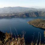 The Cuicocha lagoon is considered a sacred lake.