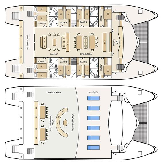 Deckplan Archipel I