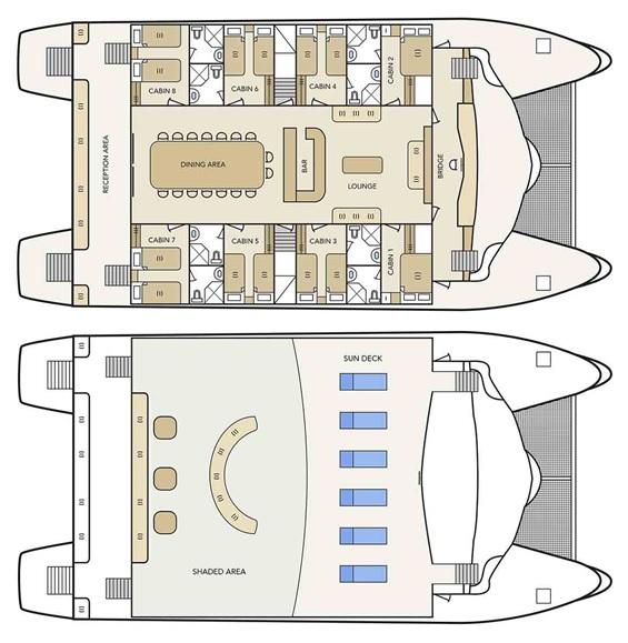 Deckplan Archipel II