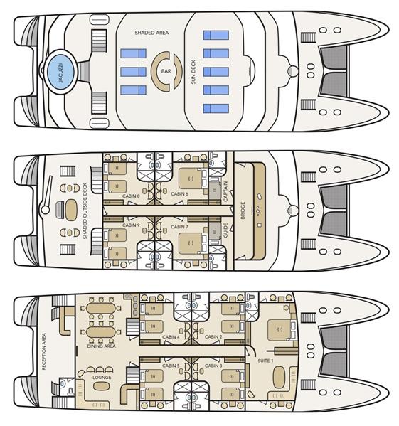 Deckplan Treasure