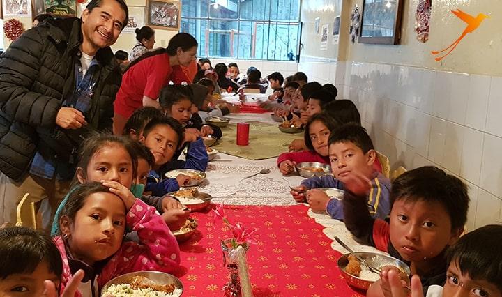 Social project ecuador