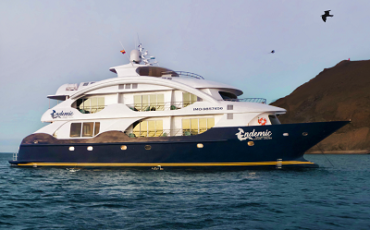 The Galapagos Endemic is a new luxury Catamaran in the Galapagos Islands.