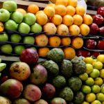 In Ecuador you can find all kinds of tropical fruits.