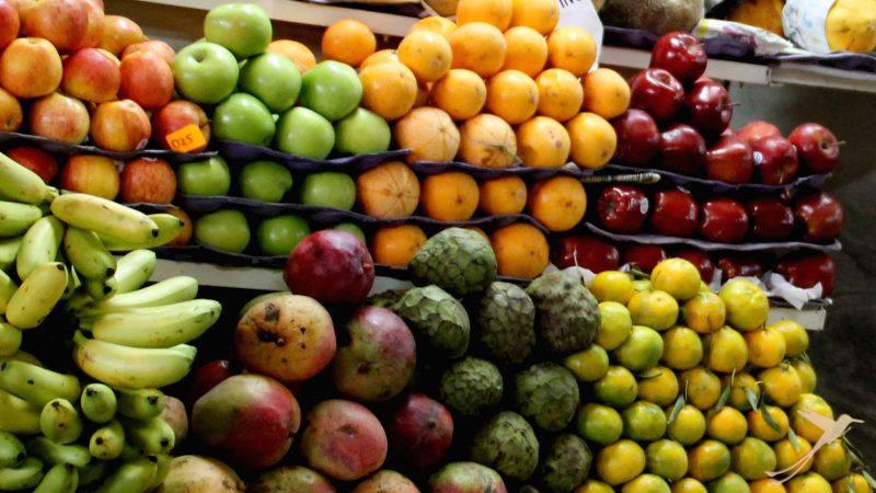 Fruit market Ecuador