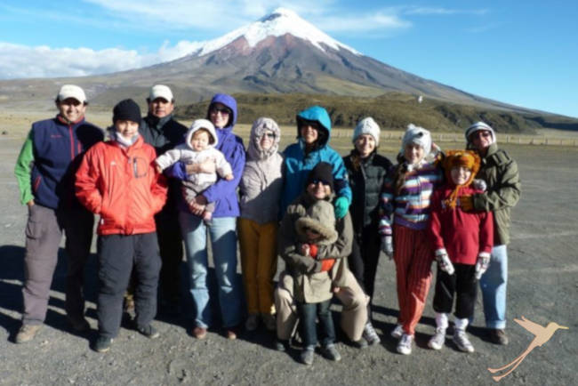 Enjoy a family day at Cotopaxi national park
