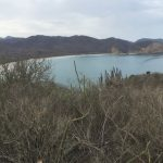 Los Frailes view on beach