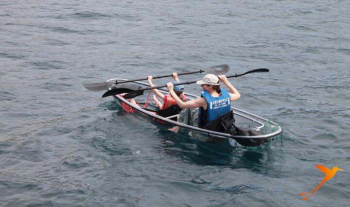 Glass Bottom Kayak Galapagos
