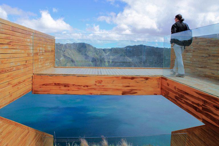Quilotoa Observation Deck