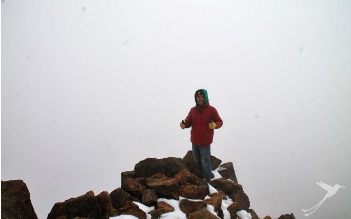 The Illiniza Norte is a good training for the Chimborazo