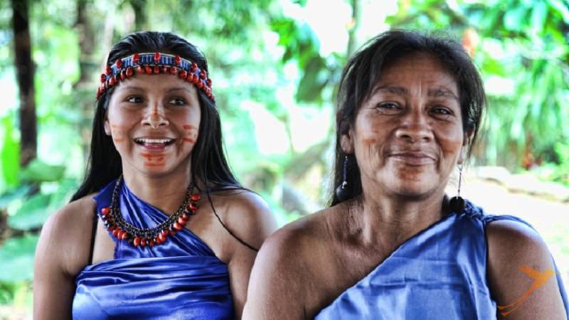 In the Ecuadorian rain forest kichwa is spoken in many communities