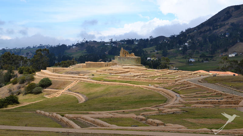 While staying in Cuenca you can visit the Ingapirca ruins.