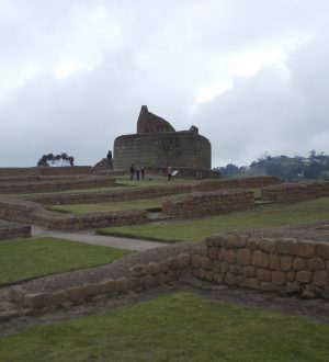 The Ingapirca ruins are to explore during the Andean Highlights Tour.