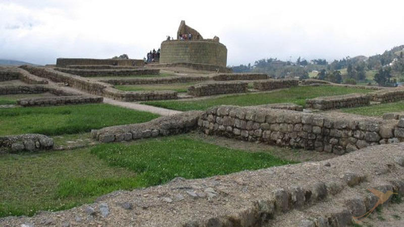 The inka ruins of Ingapirca are an interesting daytrip from Cuenca.