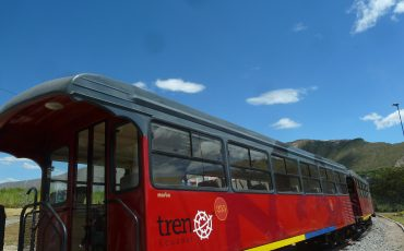 Enjoy your ride with the liberty train. During the Ecuador Nature Tour