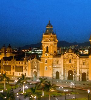 The historic center of Lima is very interesting.