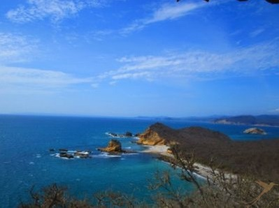 Los Frailes beach is really inviting.