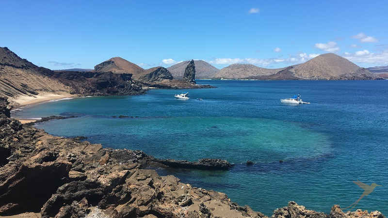 The Pinnacle Rock is an important attraction of the Galapagos
