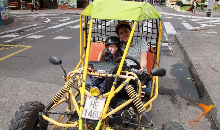 Quad Bike in Baños, Ecuador