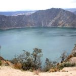Your long hike to the crater will be rewarded with amazing views.