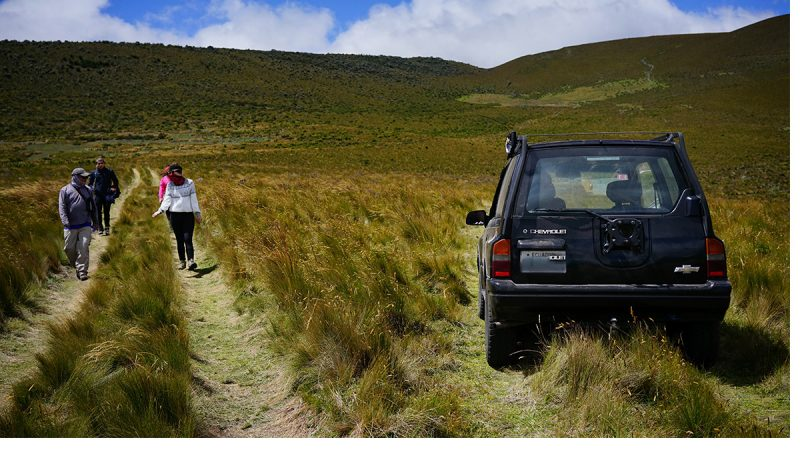 Discover Ecuador with a rental car.