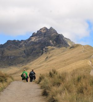 The Rucu Pichincha Summit near Quito is one of the warm-ups for the Cotopaxi