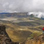 Enjoyamazing views from the Rumiñahui volcano